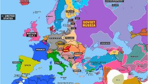 Europe In 1919 Map Europe 1919 Map