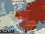 Europe In the Cold War Map Cold War 2 the 1940s Iron Curtain Truman Marshall Plan
