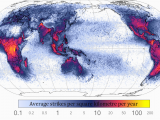 Europe Lightning Map Maps and Superstitions Blogs somathread