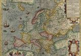 Europe Map 1946 Map Of Europe by Jodocus Hondius 1630 the Map Shows A