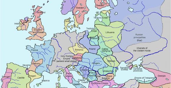 Europe Map 1960 atlas Of European History Wikimedia Commons