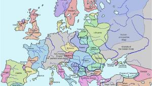 Europe Map 1970 atlas Of European History Wikimedia Commons