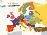 Europe Map 1980 Europe According to Latin Americans Yanko Tsvetkov S