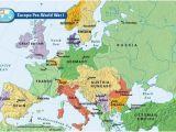 Europe Map In 1918 Europe Pre World War I Bloodline Of Kings World War I