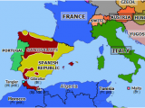 Europe Map In Spanish Spain On the Map Of Europe