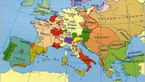 Europe Map In the Middle Ages Europe In the Middle Ages Maps Map Historical Maps Old