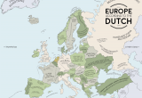 Europe Map Large Size Europe According to the Dutch Europe Map Europe Dutch
