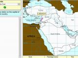 Europe Map Quiz Sheppard software Interactive Map Of Middle East Capitals Of Middle East