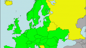 Europe Map Wiki Datei Carychium Tridentatum Presence In European Countries