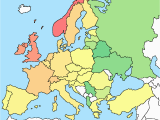 Europe Map with Labels 53 Strict Map Europe No Names