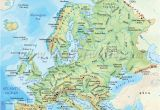 Europe Map with Mountains 36 Intelligible Blank Map Of Europe and Mediterranean
