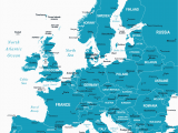 Europe Map without Country Names Map Of Europe Europe Map Huge Repository Of European