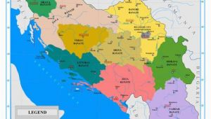 Europe Map Yugoslavia the Nine Banates Banovinas Of the Kingdom Of Yugoslavia