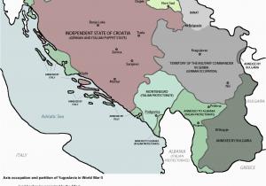 Europe Map Yugoslavia Yugoslavia Ww2 Slavic Serbian Culture Map Historical