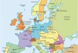 Europe Pre Ww1 Map Map Of Europe Beginning World War I 1 Download them and Print