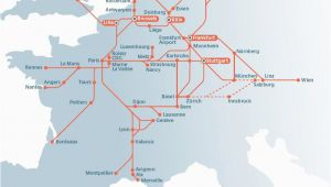 Europe Rail Pass Map Planning Your Trip by Rail In Europe