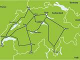 Europe Rail Pass Map Switzerland by Train From 307 Switzerland Train Routes