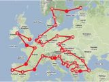 Europe Railroad Map How to Travel Europe by Train someday I Hope to Use This