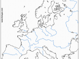 Europe Rivers Map Quiz 29 Definite Physical Map Test