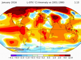 Europe Temperature Map January Global Warming Exploded In January Imageo