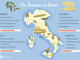 Europe Temperature Map January the Best Time to Visit Rome