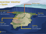Europe Temperature Map October Weather and Things to Do In Spain During December