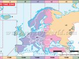 Europe Timezone Map Canada Timezones A Maps 2019