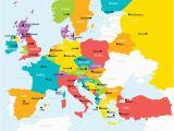 Europe tour Guide Map Elegant Europe Map tour Earnon Me
