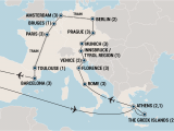 Europe tour Guide Map This This is the European tour I Want to Take I Just Need