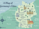 Europe Trip Planner Map Germany Cities Map and Travel Guide
