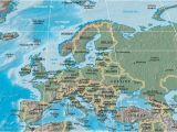 Europe Waterways Map atlas Of Europe Wikimedia Commons