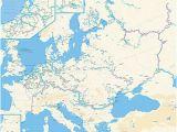 Europe Waterways Map Waterway Revolvy