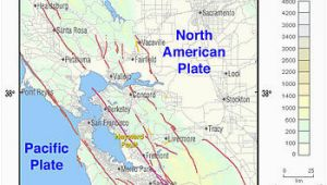 Fault Lines In California Map Hayward Fault Zone Wikipedia