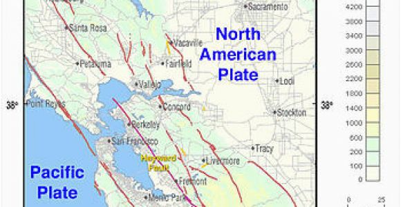 Faults In California Map | secretmuseum