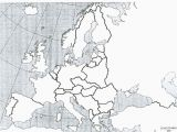 Fill In Europe Map Europe No Names Black Map Of Africa Blank Map with Scale Usa