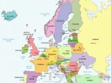 Fill In the Map Of Europe Unlabeled Map Of Europe Climatejourney org