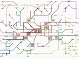 Florence Italy Bus Map Public Transport Map Florence Florence Bus Map Florence Italy