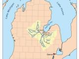 Flushing Michigan Map Shiawassee River Revolvy
