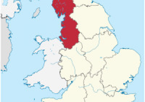 Football Teams In England Map north West England Wikipedia