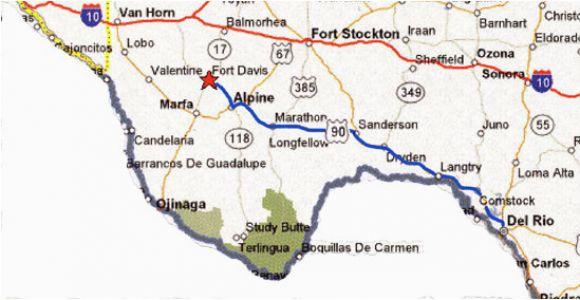 Fort Davis Texas Map Map Of Alpine Texas Business Ideas 2013