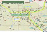 Fort Gordon Georgia Map Graduation