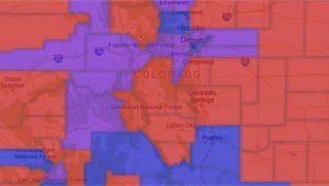 Fort Morgan Colorado Map Map Colorado Voter Party Affiliation by County