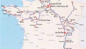 France Bullet Train Map Image Detail for France Train Map Of Tgv High Speed Train