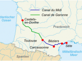France Carcassonne Map Canal Du Midi Wikipedia