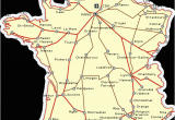 France High Speed Rail Map France Railways Map and French Train Travel Information