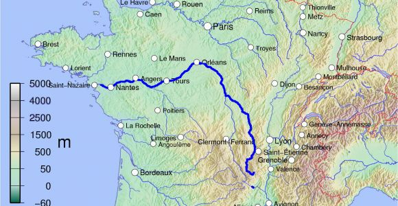 France Loire Valley Map Loire Wikipedia