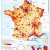 France Population Density Map France Population Density and Cities by Cecile Metayer Map France