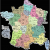 France Postal Code Map Map Of France Departments France Map with Departments and Regions