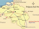 France Rail Network Map How to Get Around Belgium Like A Local