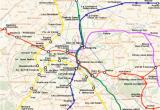 France Rer Map Reseau Express Regional Wikipedia